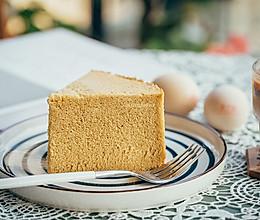 8寸木糖醇咖啡肉桂戚风蛋糕(完全不开裂)的做法