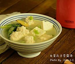 白菜丸子豆腐汤#膳魔师北咸主题月#的做法