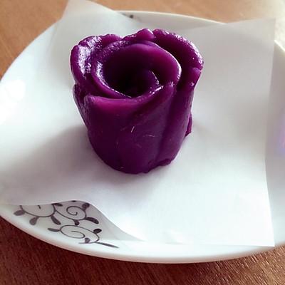紫薯玫瑰花(最简单易做的方法了)