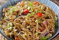 #美食新势力#炒粉丝,很多人第一步就错了,难怪粘锅还不好吃的做法