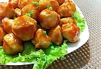 番茄汁鸡肉丸的做法