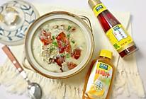 #太太乐鲜鸡汁芝麻香油#烤鸭架汤+太太乐鲜鸡汁芝麻香油的做法