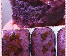 最爱紫色:紫薯糕的做法