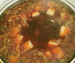 香辣牛肉火锅的做法