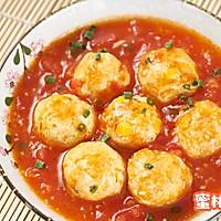 番茄鸡肉丸的做法图解7