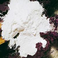 紫薯糯米饼【电饼铛】的做法图解4