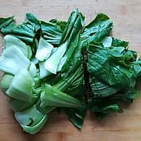 香菇油菜炒豆腐#花10分钟,做一道菜!#的做法图解2