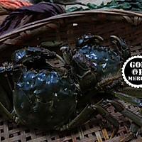 金秋美味清蒸螃蟹的做法图解1