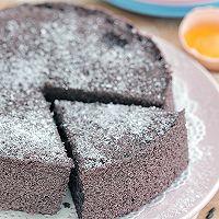 黑米蒸蛋糕的做法图解14