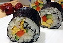 家庭版寿司的做法
