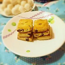 葡萄干奶酥饼干#爱仕达寻找面点女王#