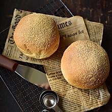 黄豆麻薯果仁面包