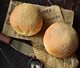 黄豆麻薯果仁面包的做法