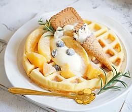 孩子爱吃的早餐华夫饼 15分钟搞定 免烤箱#我们约饭吧#的做法