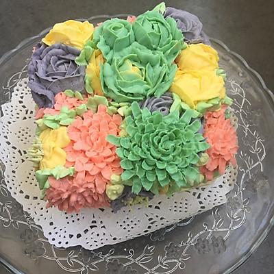 裱花蛋糕之奶酪霜的做法 步骤9