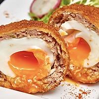 【苏格兰蛋】鸡蛋裹肉炸一炸,绝妙!