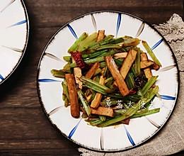 #橄榄中国味 感恩添美味#减脂餐|芹菜炒香干的做法