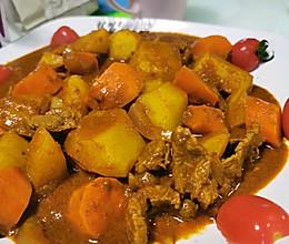 马来西亚红咖喱牛肉的做法