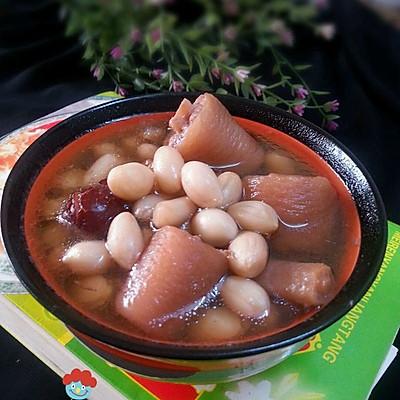 滋养阴血,养肾固精美味汤一花生红枣煲猪尾