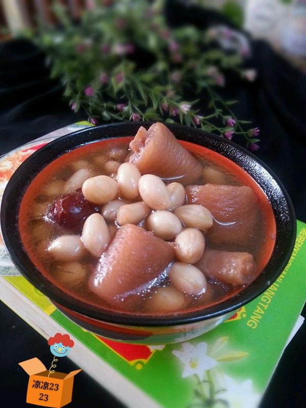 滋养阴血,养肾固精美味汤一花生红枣煲猪尾的做法