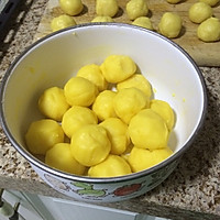 超人气半岛【港式奶黄月饼】的做法图解4