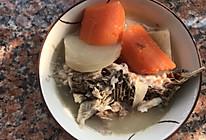 沙葛鲫鱼汤的做法