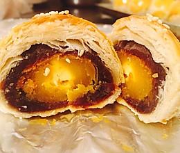 黄油版豆沙蛋黄酥(超详细)的做法