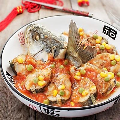 茄汁蒸鱸魚