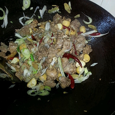 干锅鸭肉的做法 步骤8