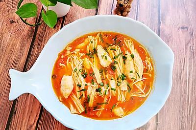 番茄龙利鱼浓汤