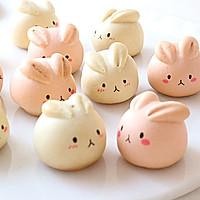 萌萌月兔烧果子,松软香甜,最佳春节手工点心的做法图解14