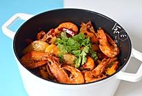 干锅香辣虾的做法