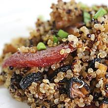 香菇香肠藜麦饭