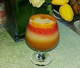 多彩混合水果汁的做法