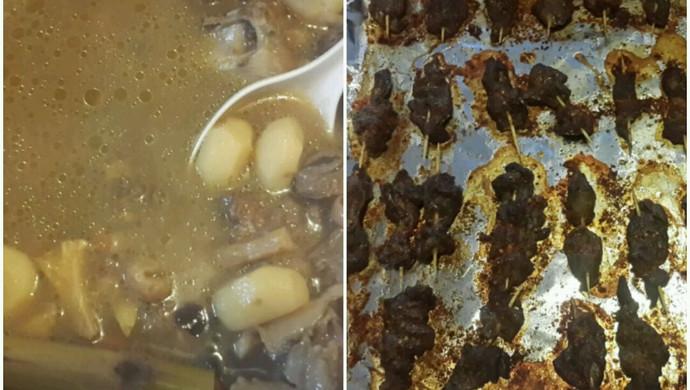 清补羊肉汤&烤牙签羊肉