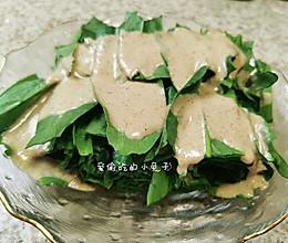 麻酱拌油麦菜(清爽又简单)的做法