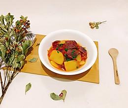 美味番茄土豆牛肉的做法