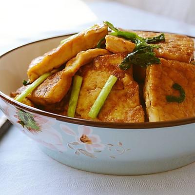 72期 韭菜烩豆腐(年夜菜之二)