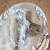 盐焗鲈鱼的做法图解5