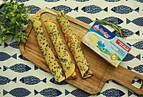 #安佳儿童创意料理#芝麻蛋卷的做法