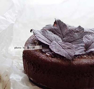 落叶古典巧克力蛋糕——好吃到让人尖叫