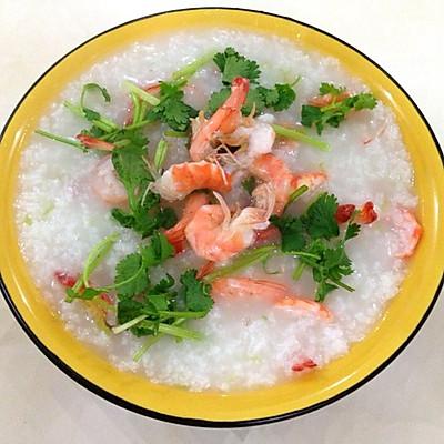 美味鲜虾粥