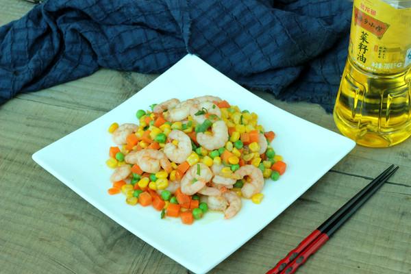 虾仁玉米粒的做法