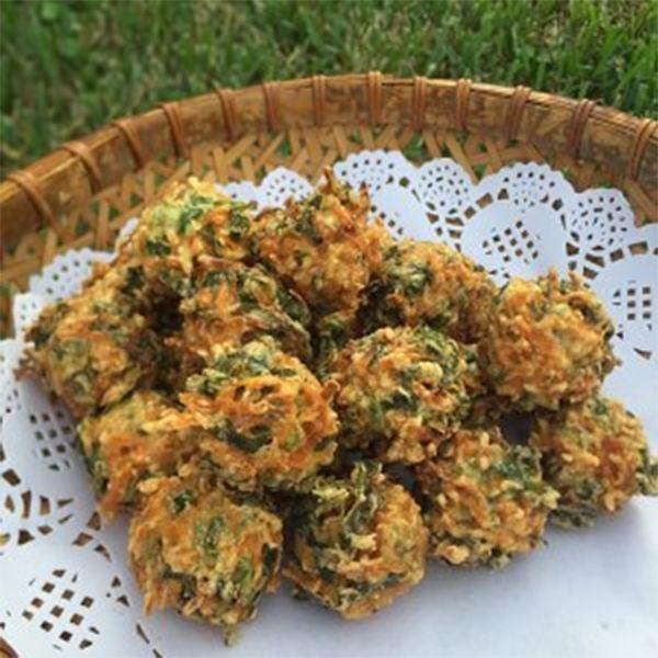 胡萝卜素丸子的做法