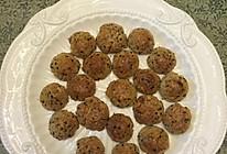 芝麻花生酥饼干的做法