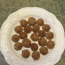 芝麻花生酥饼干