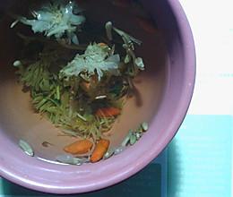 金银花白菊茶(祛痘印)的做法