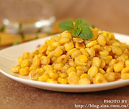 金沙玉米的做法