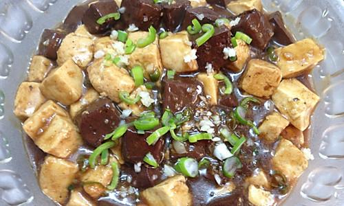 双色熘豆腐的做法