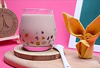 自制超级Q弹的三色芋圆奶茶的做法